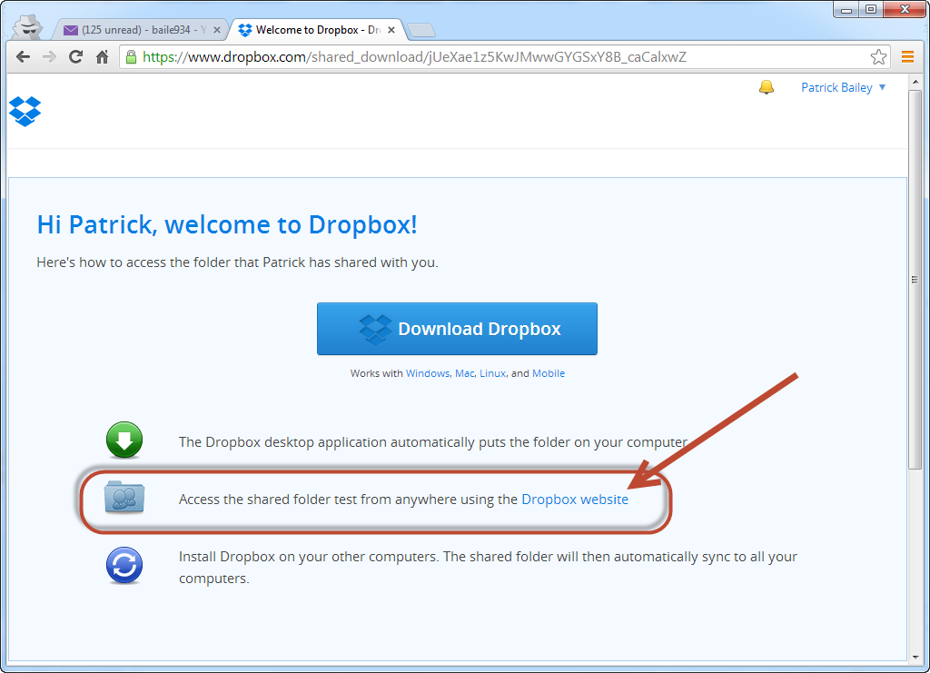 WhiteBoard Coder: Dropbox with your clients