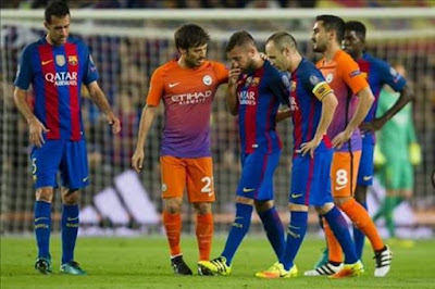 Jordi Alba rời sân chỉ sau 10 phút thi đấu