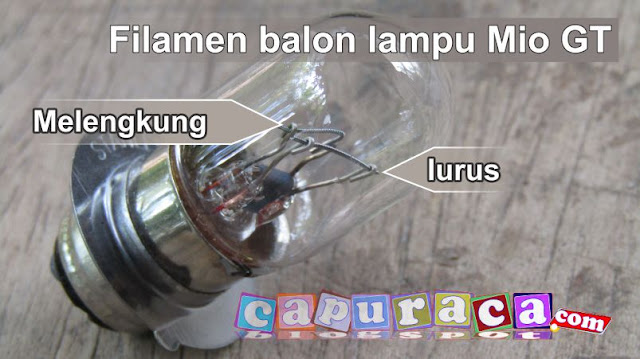 balon lampu mio gt, balon mio, lampu depan mio,
