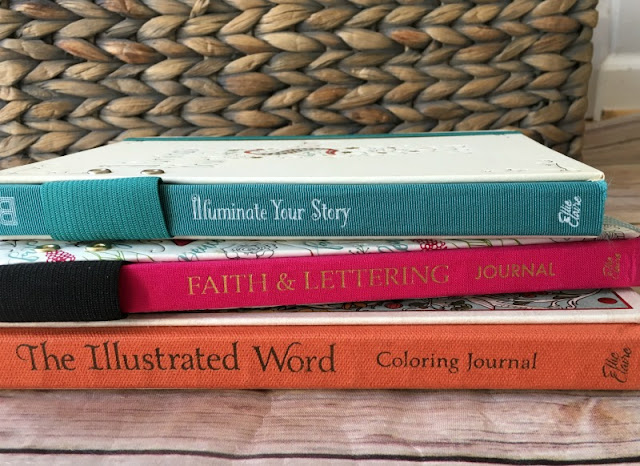 Each of the Ellie Claire journals provide a focus Scripture verse, prayer prompts, and journaling lines so you can record your personal thoughts and reflections to that day's reading.