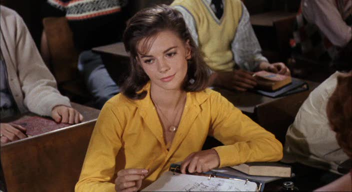 NATALIE WOOD in SPLENDOR IN THE GRASS   CANON MOVIES  NATALIE WOOD in...