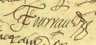 signature du curé