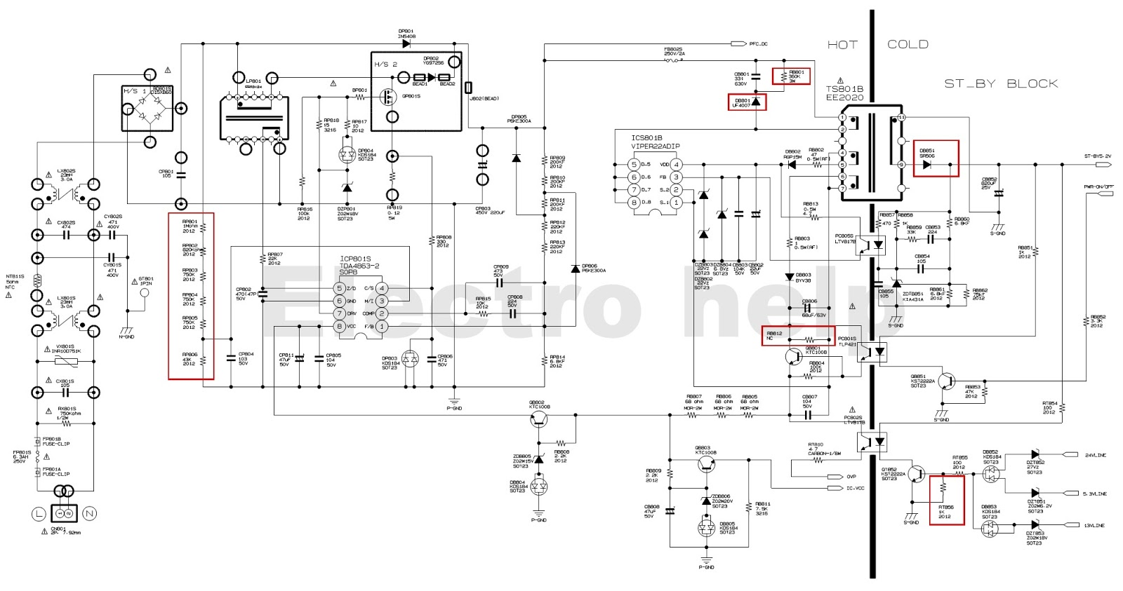 samsung schematic diagrams bn4400157a - samsung led lcd tv smps schematic - tda4863 ... 1988 blazer wiring schematic diagrams