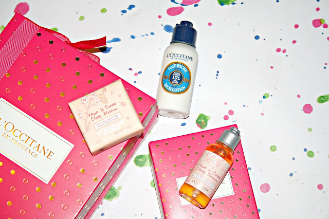 L'Occitane QVC Christmas Floral Travel Collection