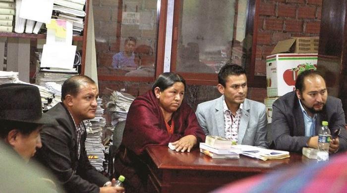 Achacollo y su defensa solicitaron cuatro veces medidas sustitutivas a la detención preventiva