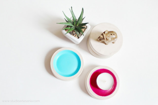 DIY Multifunctional industrial-style round coasters