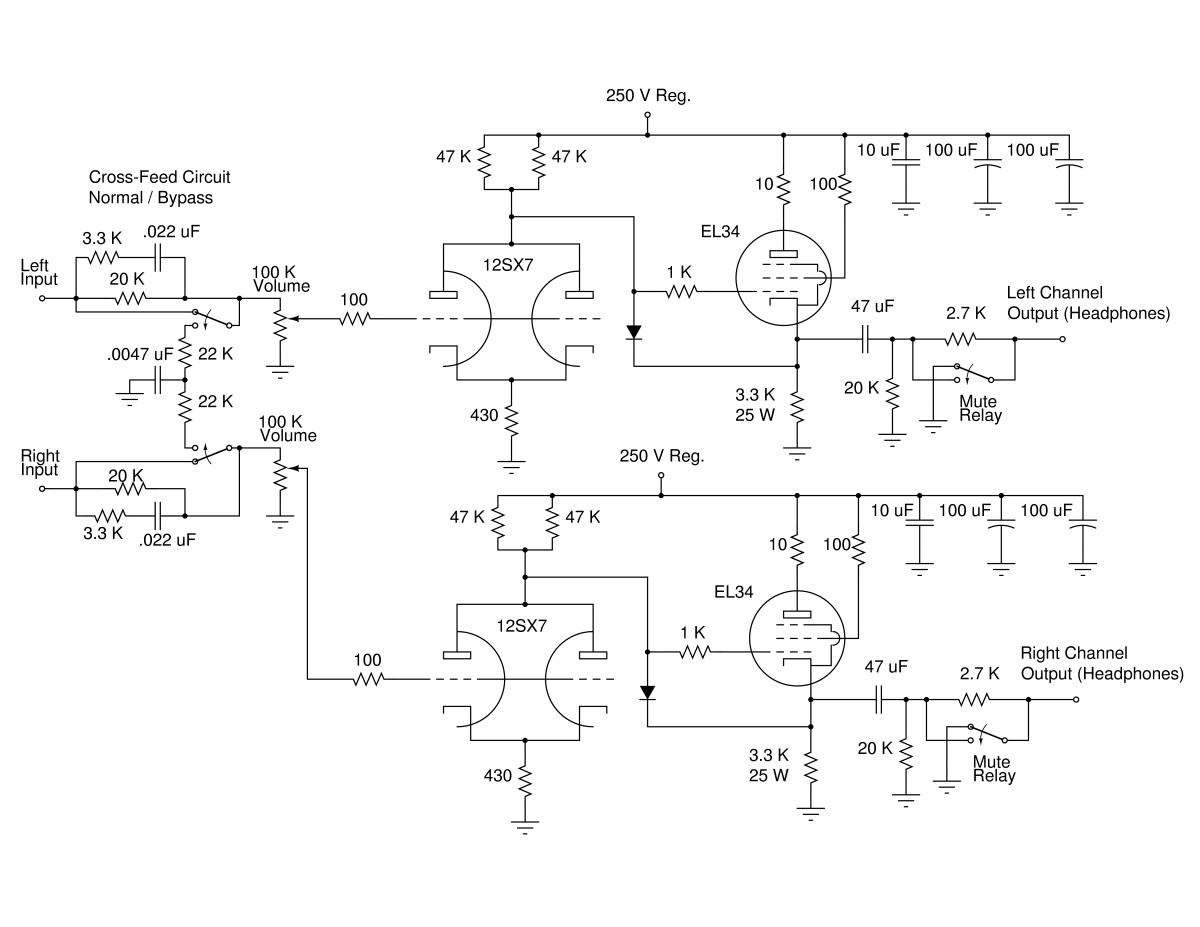 Hi Fi Headphone Amplifier Circuit Diagram Repository Auto Current Amplifiercircuit Schematic Of Hadphone