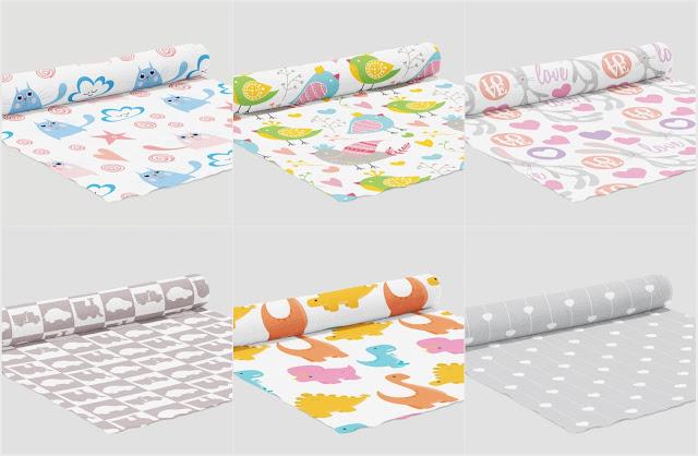 tkaniny na metry dla dzieci, materiały na metry do pokoju dziecięcego, tkaniny do szycia,