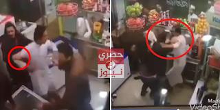 اعتداء كويتي على مصري