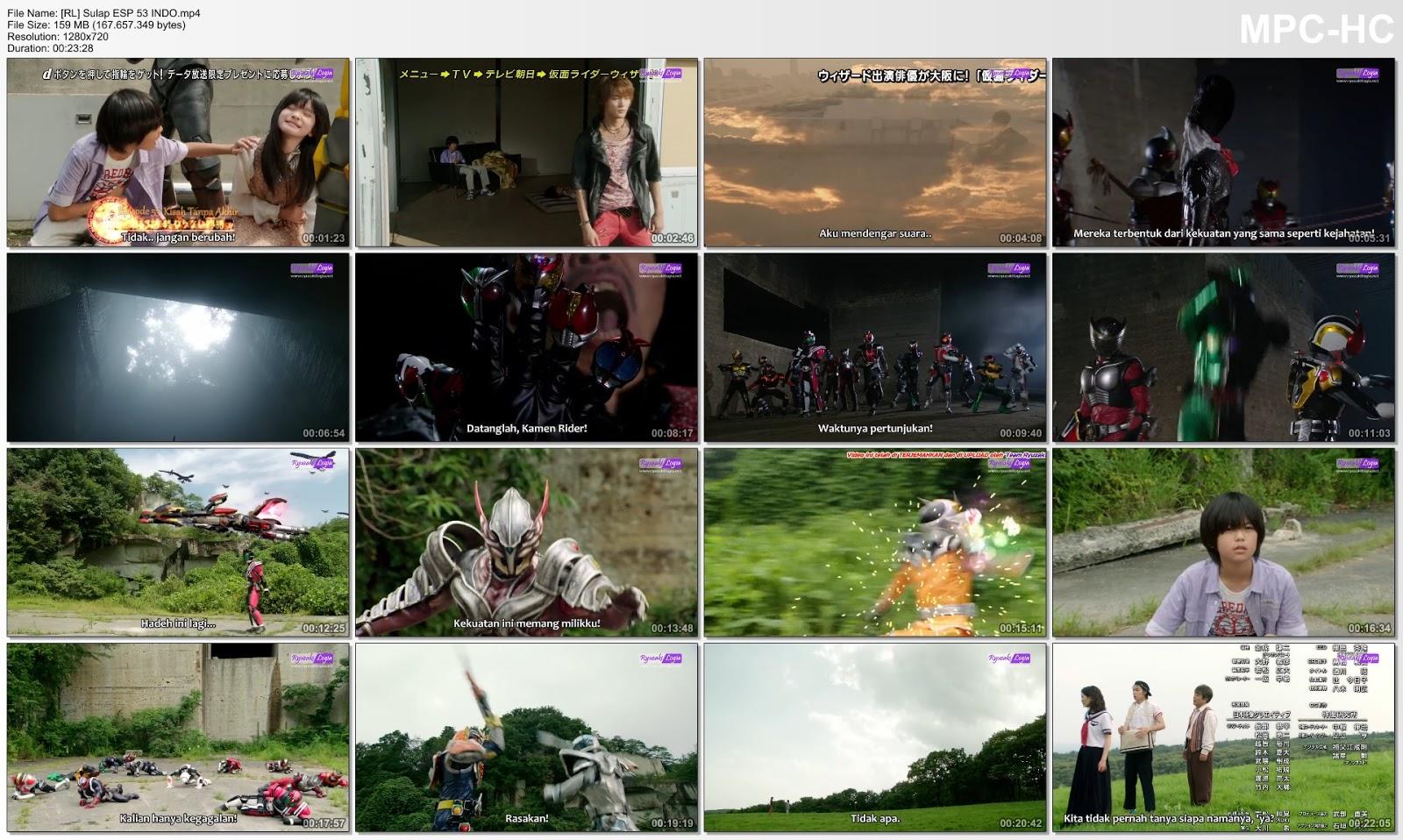 Special] Kamen Rider Wizard Episode 52&53 Subtitle Indonesia