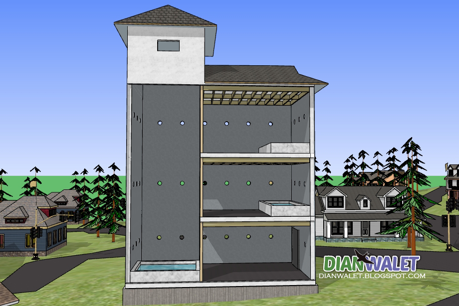 94+ Contoh Denah Rumah Walet 4x6 Yang Bisa Anda Contoh
