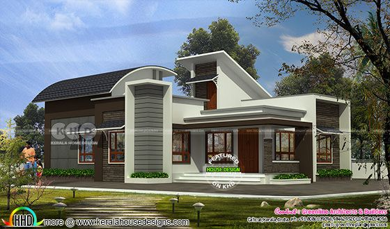 Ultra modern budget friendly home plan