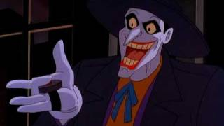 Joker pressing a button in Batman: Mask of the Phantasm 1993 animatedfilmreviews.filminspector.com