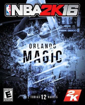 NBA 2K16 Custom Covers - Orlando Magic
