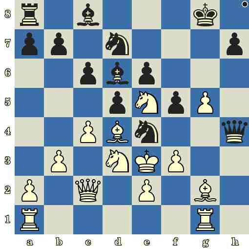 Quiz du jour sur les échecs : les Noirs jouent et matent en 5 coups