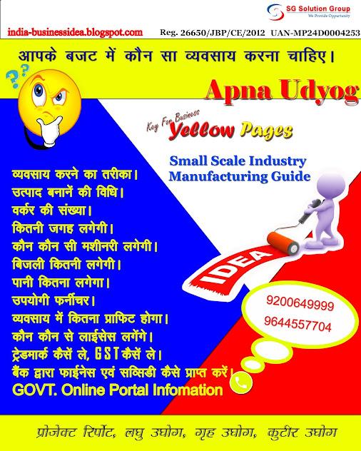 BUSINESS IDEA BOOK