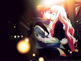 zero no tsukaima anime romance