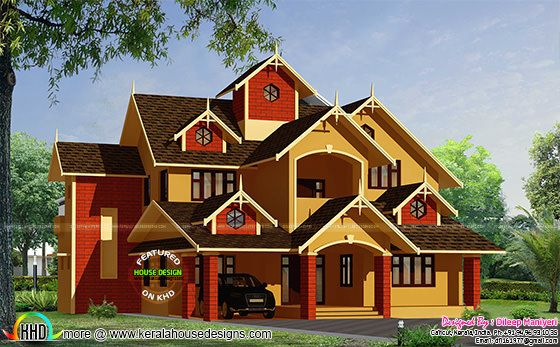 Hard color home design