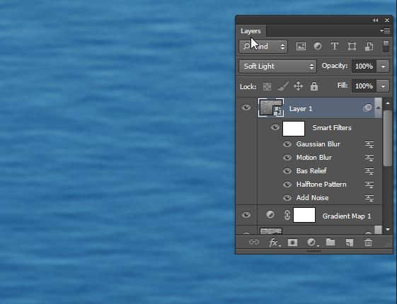 Create Water Texture in Photoshop easily | Xtorial