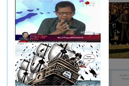 Tim Jokowi Akui Banyak yang Membelot ke Prabowo, Ingat Rocky Gerung: Tikus Geladak Akan Loncat Ke Laut Kalau Kapal Sudah Mau Tenggelam