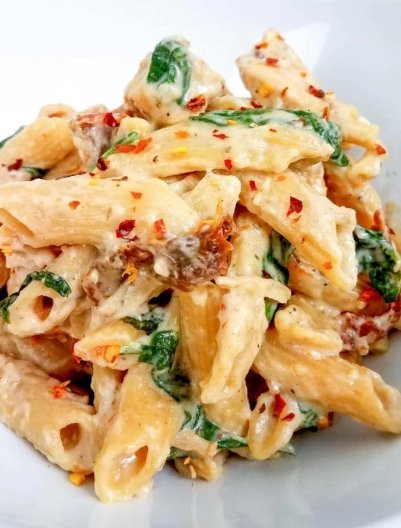 WEIGHT WATCHERS HEALTHY TUSCAN CHICKEN PASTA