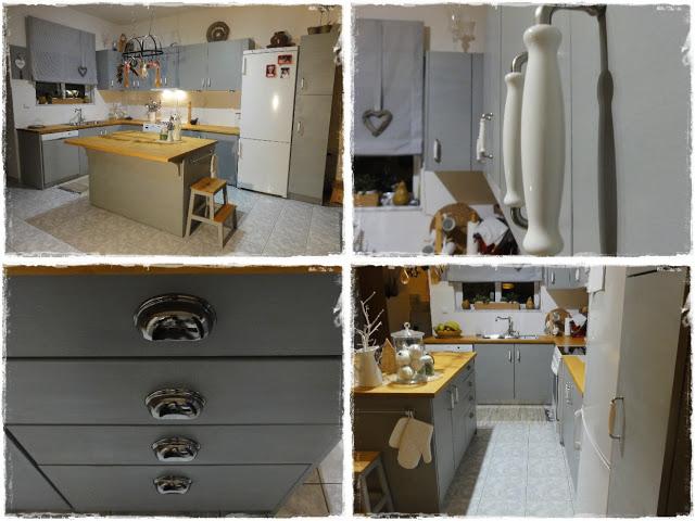Μεταμόρφωση Κουζίνας με Paris Grey 11 Annie Sloan Greece