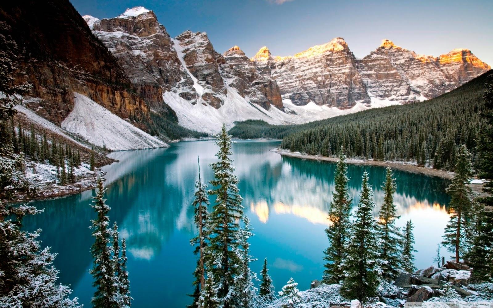 Alberta Canada HD Background