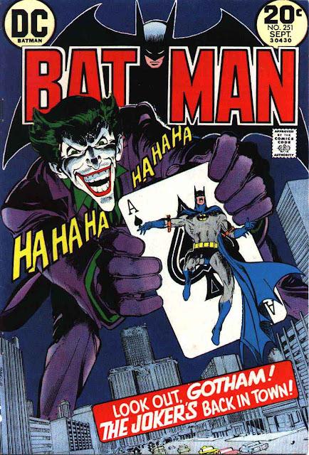 Batman v1 #251 dc comic book cover art by Neal Adams