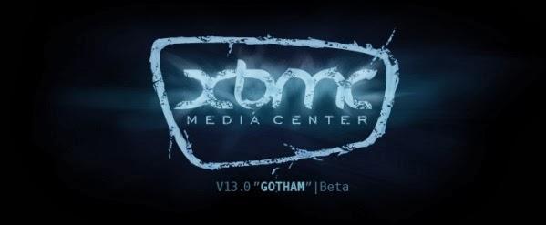 XBMC 13.0 GOTHAM Beta 1