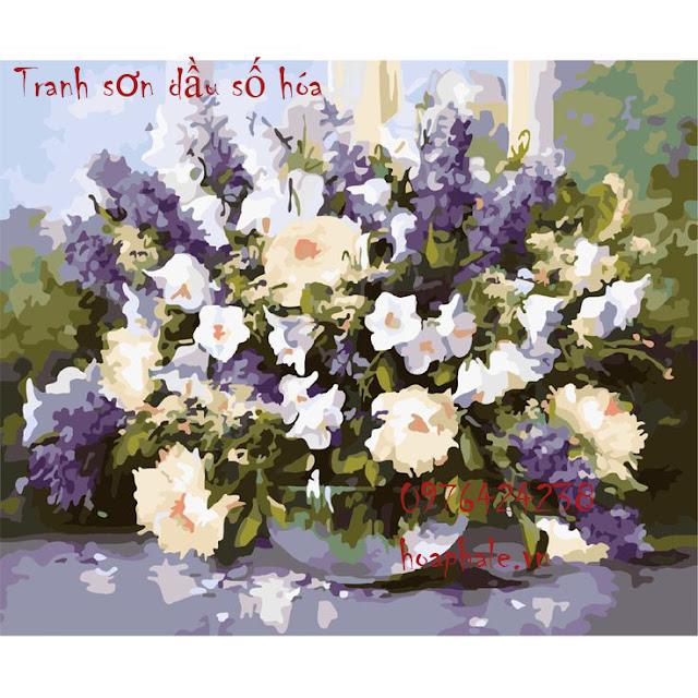 Tranh son dau so hoa o Huyen Dang Phuong