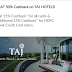 Flat 30% Cashback On Taj Hotels For HDFC Bank Credit Card Users