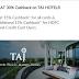 Flat 30% Cashback On Taj Hotels For HDFC Bank Credit Card Users