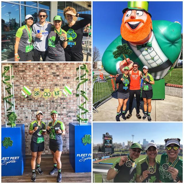 Shamrock'n Half Marathon post race pics