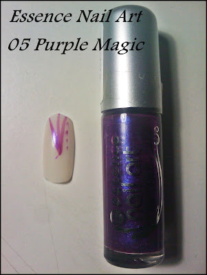 essence nail art 05 purple magic
