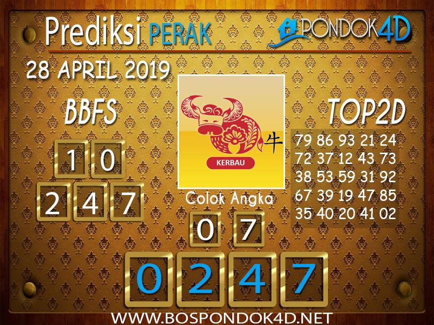 Prediksi Togel PERAK PONDOK4D 28 APRIL 2019