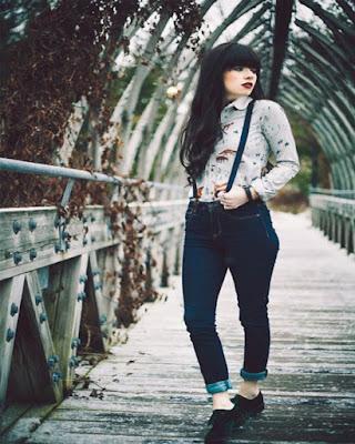 outfit hipster con tirantes tumblr casual de moda