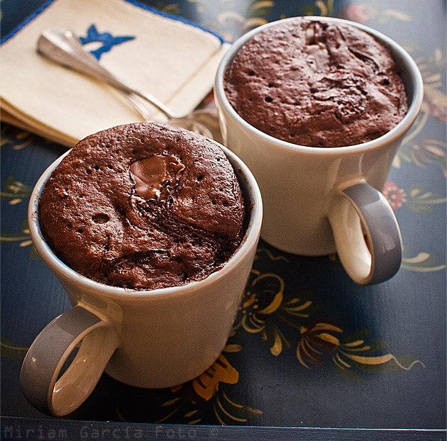 7 recetas de mug cake o bizcochos en taza (en espa�ol)
