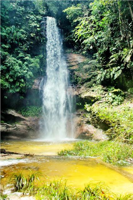 adalah salah satu objek wisata yang terletak di Desa Tanjung Air Terjun Panisan, Keindahan Yang Masih Alami