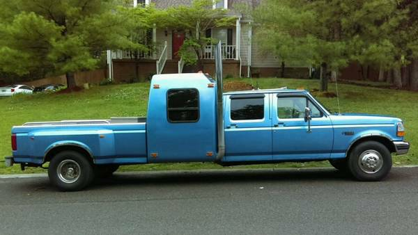 Driver 88 Craigslist Find: 1995 Ford F-350 Dually Sleeper
