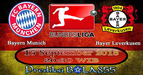 Prediksi Bola855 Bayern Munich vs Bayer Leverkusen 15 September 2018