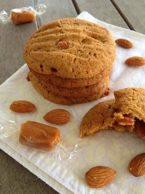 Sweet Kwisine, cookie, biscuit, amandes, crème d'amandes, épices, caramel