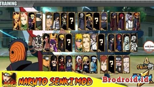Download Naruto Senki Mod Naruto Mobile Fighter Unlimited Coins Terbaru