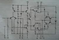 Komponen penyusun IC STK070