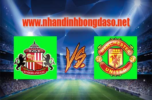 Nhận định bóng đá Sunderland vs Manchester United, 19h30 ngày 09-04