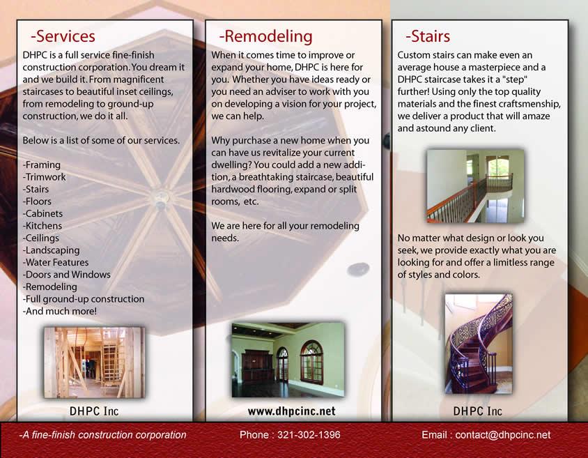 business brochures - Roho4senses
