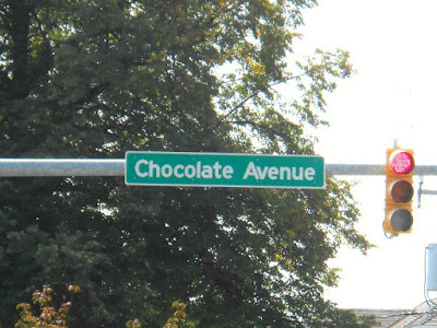 Chocolate Avenue in Hershey Pennsylvania