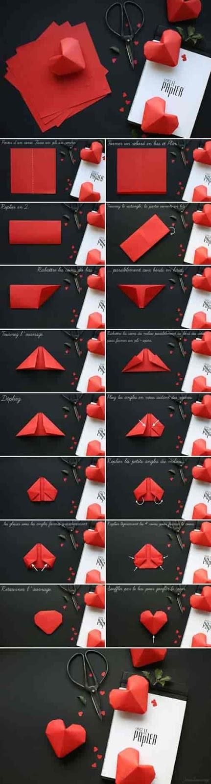 10 أفكار بالورق الملون