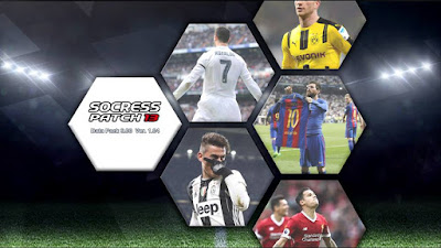 PES 2013 Socress Patch 13 by G66Mods Season 2017/2018