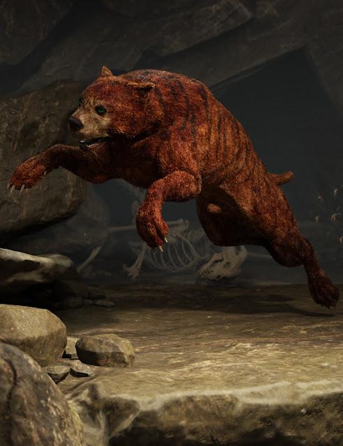 Bear Dog for Daz Dog 8