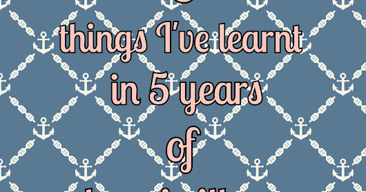 5 things I've learned in 5 years of chronic illness